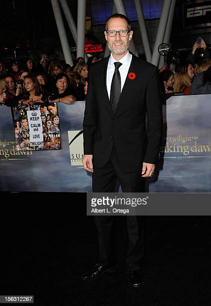 Actor Christopher Heyerdahl arrives at the Premiere Of Summit Entertainment's 'The Twilight Saga Breaking Dawn Part 2' Arrivals held at Nokia Theatre...