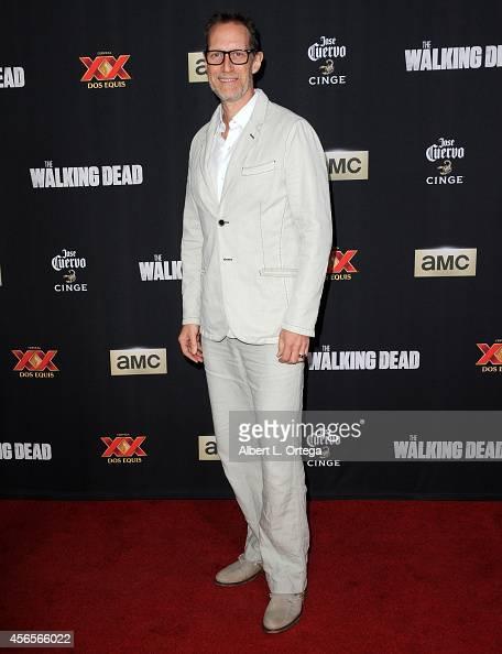 Actor Christopher Heyerdahl arrives for AMC Celebrates The Season 5 Premiere Of 'The Walking Dead' held at AMC Universal City Walk on October 2 2014...