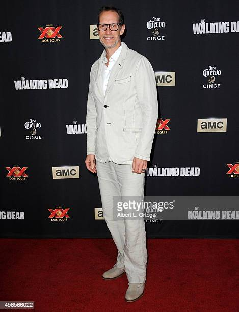 Actor Christopher Heyerdahl arrives for AMC Celebrates The Season 5 Premiere Of 'The Walking Dead' held at AMC Universal City Walk on October 2 2014...