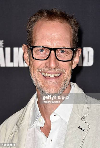 Actor Christopher Heyerdahl attends the season 5 premiere of 'The Walking Dead' at AMC Universal City Walk on October 2 2014 in Universal City...