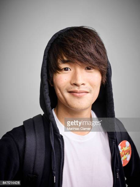Actor Christopher Larkin from 'The 100' is photographed for Entertainment Weekly Magazine on July 22 2016 at Comic Con in the Hard Rock Hotel in San...