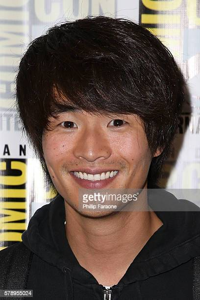 Actor Christopher Larkin of 'The 100' attends ComicCon International 2016 on July 22 2016 in San Diego California