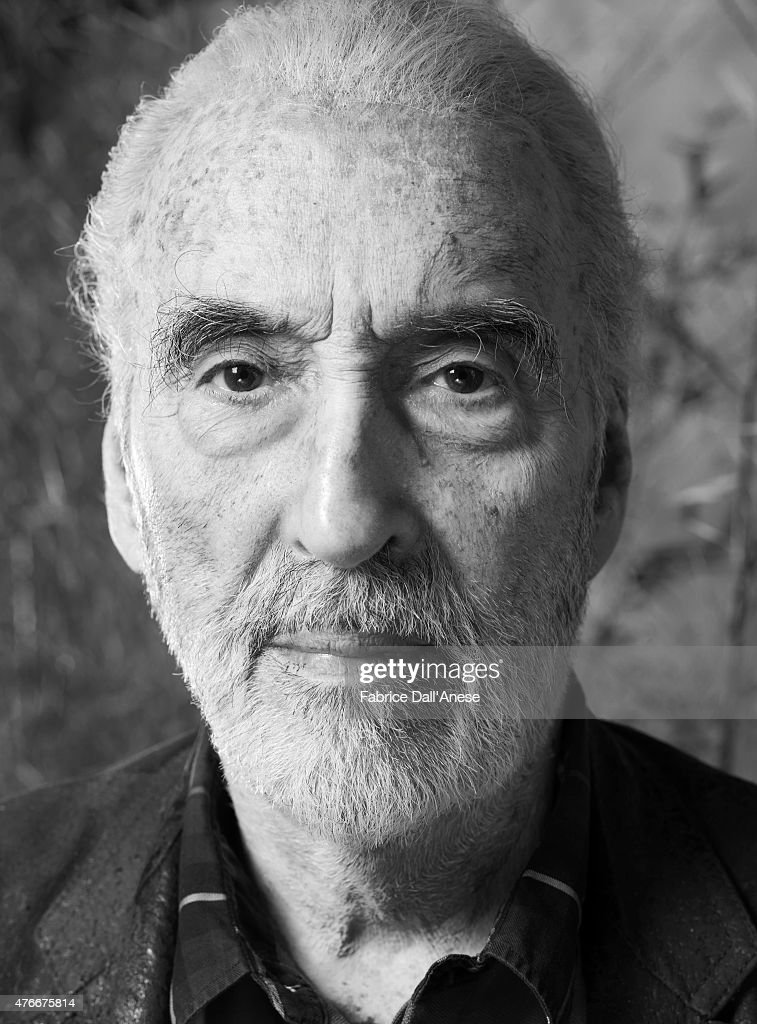 Christopher Lee, Vanity Fair Italy, October 2009