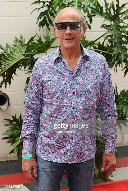 Actor Christopher Lloyd arrives at the Premiere Of Universal Studios Hollywood's 'King Kong 360 3D' Attraction on June 29 2010 in Universal City...