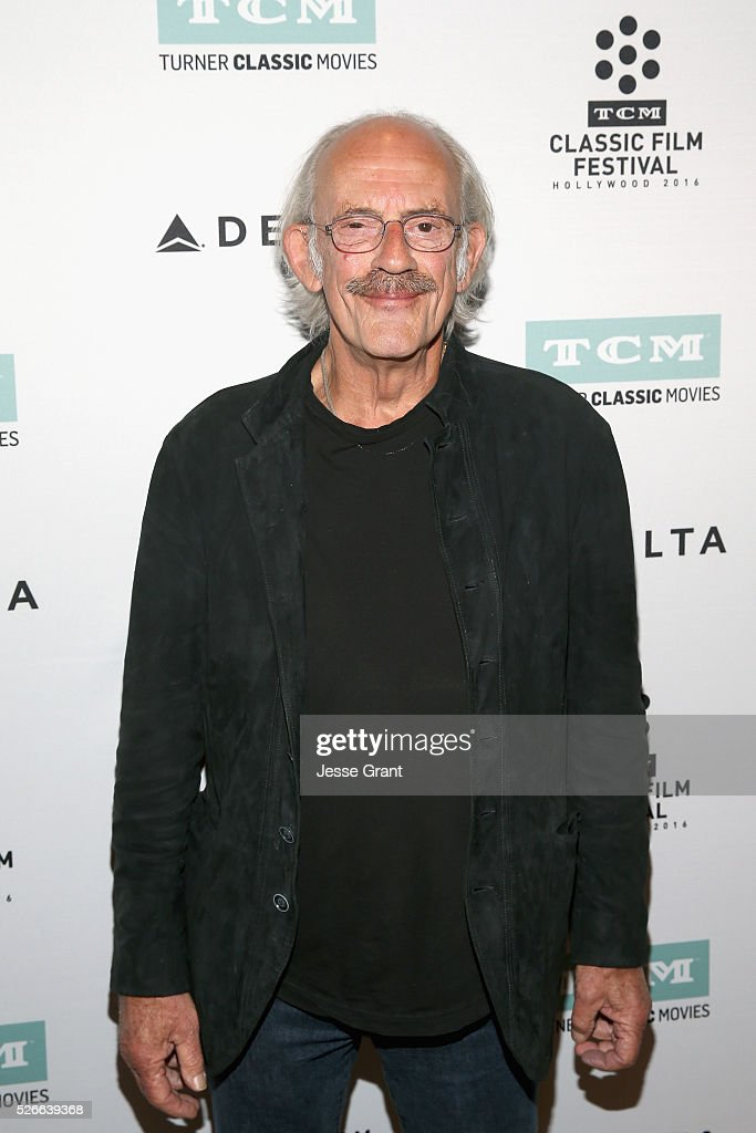 Actor Christopher Lloyd attends 'One Flew Over the Cuckoo's Nest' screening during day 3 of the TCM Classic Film Festival 2016 on April 30, 2016 in Los Angeles, California. 25826_009