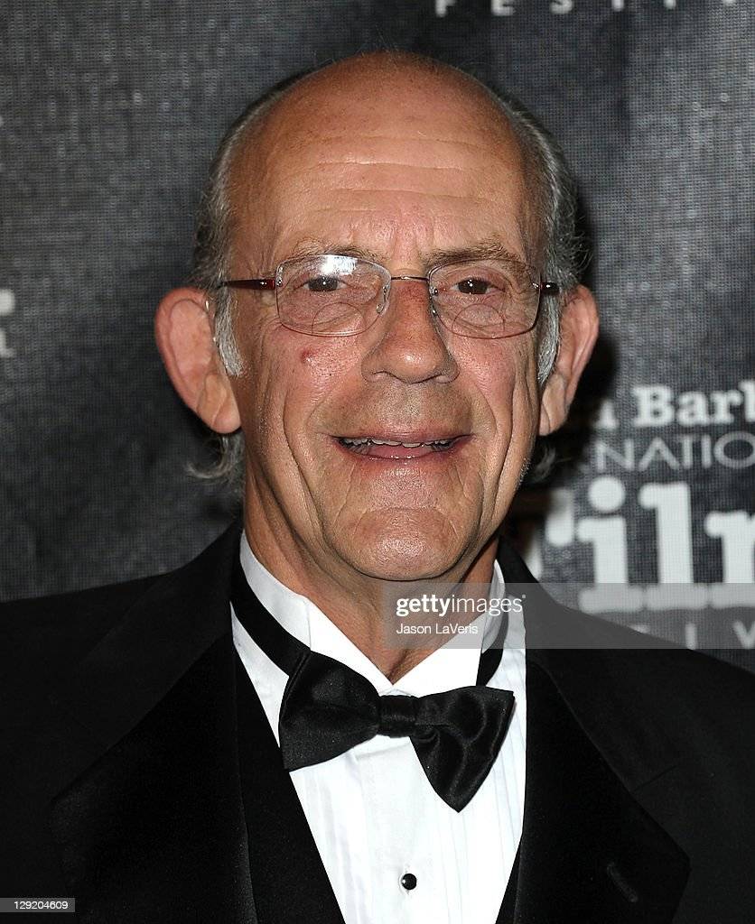 Actor <a gi-track='captionPersonalityLinkClicked' href=/galleries/search?phrase=Christopher+Lloyd+-+Actor&family=editorial&specificpeople=226550 ng-click='$event.stopPropagation()'>Christopher Lloyd</a> attends Santa Barbara International Film Festival's 6th annual Kirk Douglas Award for Excellence in Film gala at The Four Seasons Biltmore on October 13, 2011 in Santa Barbara, California.
