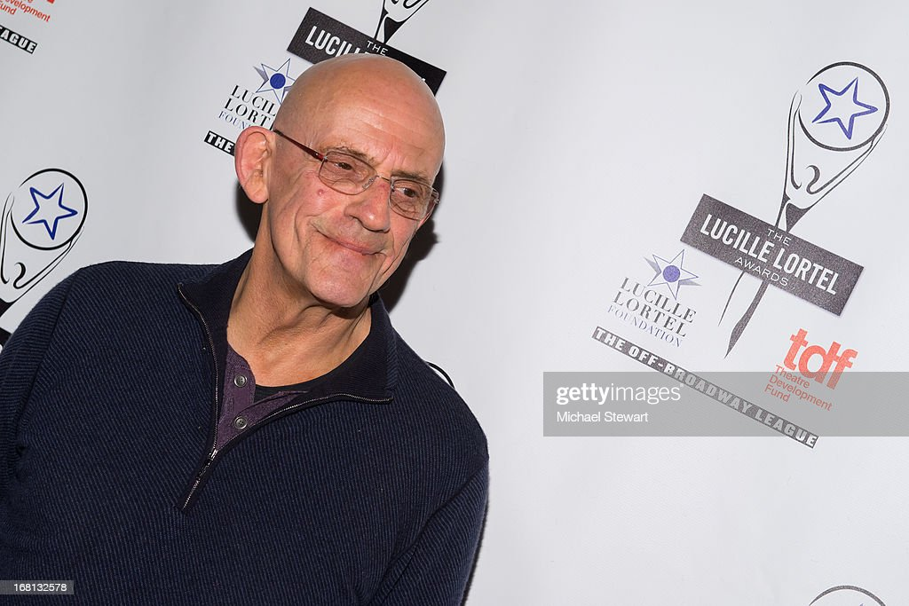 Actor <a gi-track='captionPersonalityLinkClicked' href=/galleries/search?phrase=Christopher+Lloyd+-+Actor&family=editorial&specificpeople=226550 ng-click='$event.stopPropagation()'>Christopher Lloyd</a> attends the 2013 Lucille Lortel Awards at Jack H. Skirball Center for the Performing Arts on May 5, 2013 in New York City.