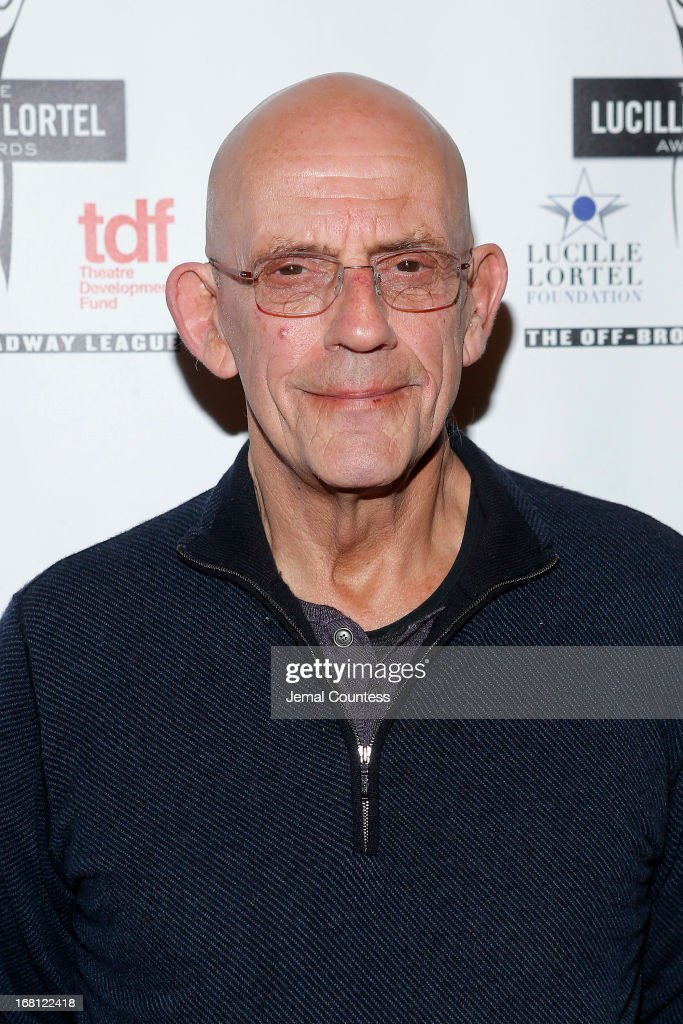 Actor <a gi-track='captionPersonalityLinkClicked' href=/galleries/search?phrase=Christopher+Lloyd+-+Schauspieler&family=editorial&specificpeople=226550 ng-click='$event.stopPropagation()'>Christopher Lloyd</a> attends the 28th Annual Lucille Lortel Awards on May 5, 2013 in New York City.