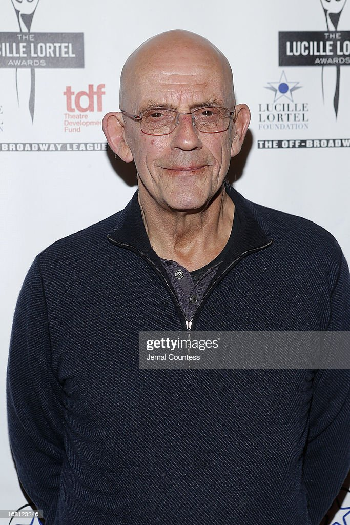 Actor <a gi-track='captionPersonalityLinkClicked' href=/galleries/search?phrase=Christopher+Lloyd+-+Attore&family=editorial&specificpeople=226550 ng-click='$event.stopPropagation()'>Christopher Lloyd</a> attends the 28th Annual Lucille Lortel Awards on May 5, 2013 in New York City.