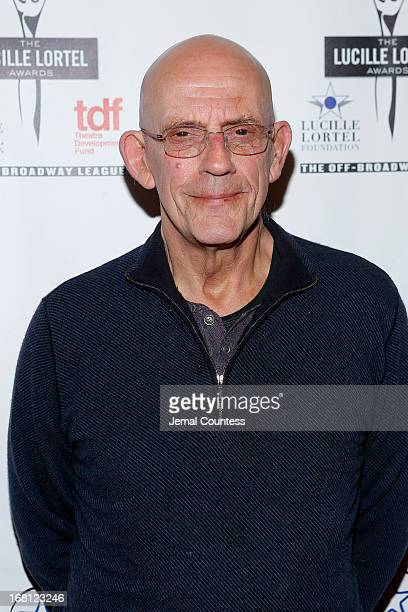 Actor Christopher Lloyd attends the 28th Annual Lucille Lortel Awards on May 5 2013 in New York City