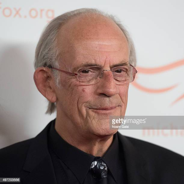 Actor Christopher Lloyd attends the Michael J Fox Foundation's 'A Funny Thing Happened On The Way To Cure Parkinson's' Gala at The Waldorf=Astoria on...