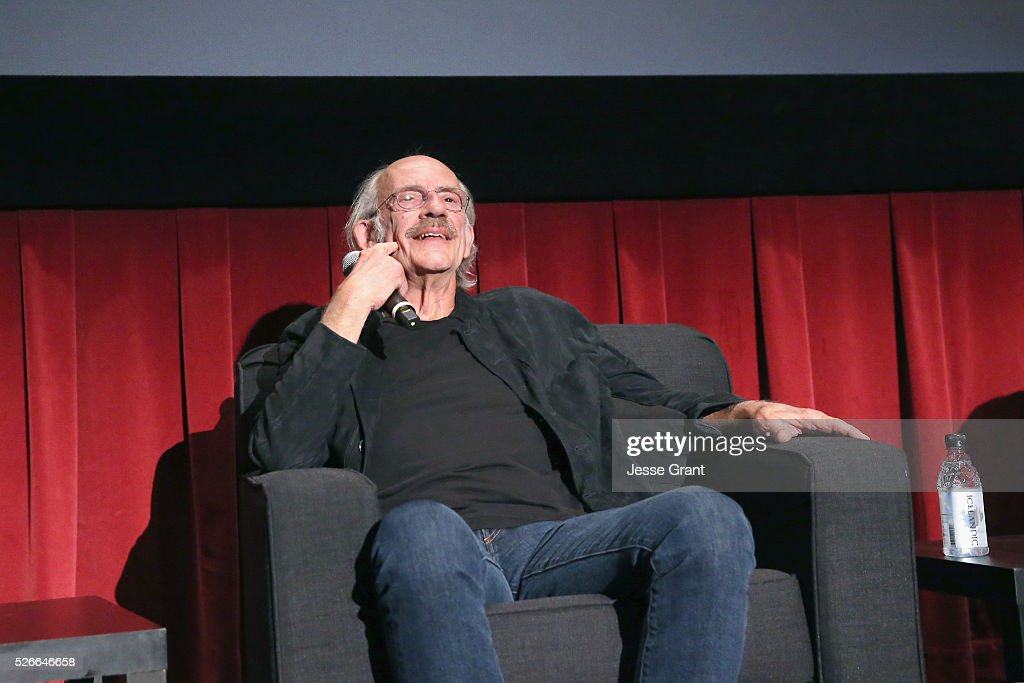 Actor Christopher Lloyd speaks onstage at 'One Flew Over the Cuckoo's Nest' screening during day 3 of the TCM Classic Film Festival 2016 on April 30, 2016 in Los Angeles, California. 25826_009