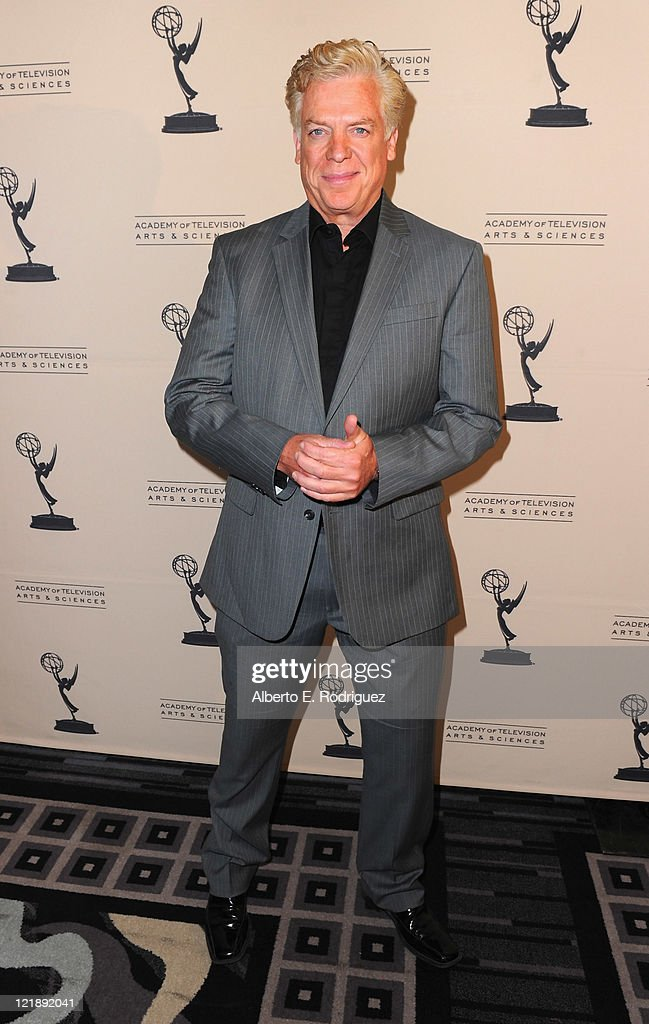 Actor Christopher MacDonald attends The Academy of Television Arts and Sciences' Performers Peer Grooup celebrating The 63rd Primetime Emmy Awards on...