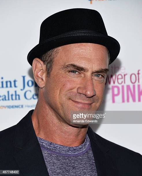 Actor Christopher Meloni arrives at the 2014 Power Of Pink An Acoustic Evening With Pnk And Friends event at The House of Blues Sunset Strip on...
