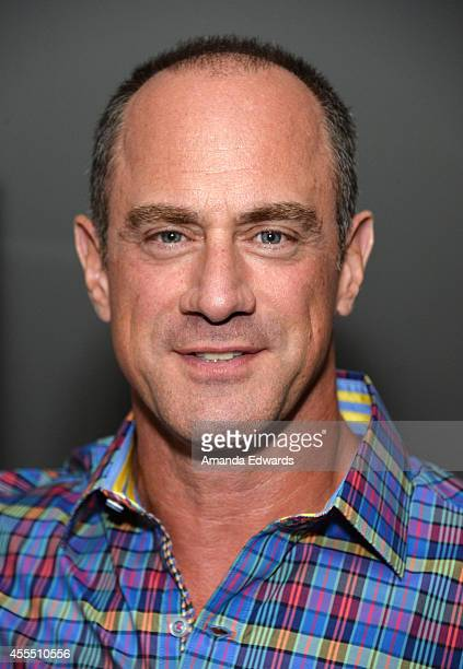 Actor Christopher Meloni arrives at the Los Angeles premiere of 'Pump' at the Landmark Theatres on September 15 2014 in Los Angeles California