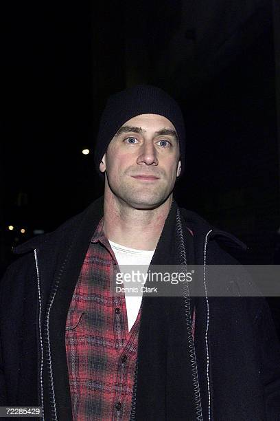 Actor Christopher Meloni attends Club XL March 12 2002 in New York City Meloni stars on the NBC tv show Law OrderSVU