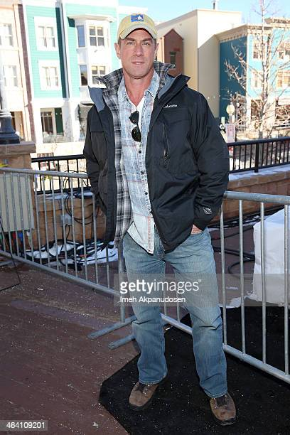 Actor Christopher Meloni attends day 4 of The Village At The Lift on January 20 2014 in Park City Utah