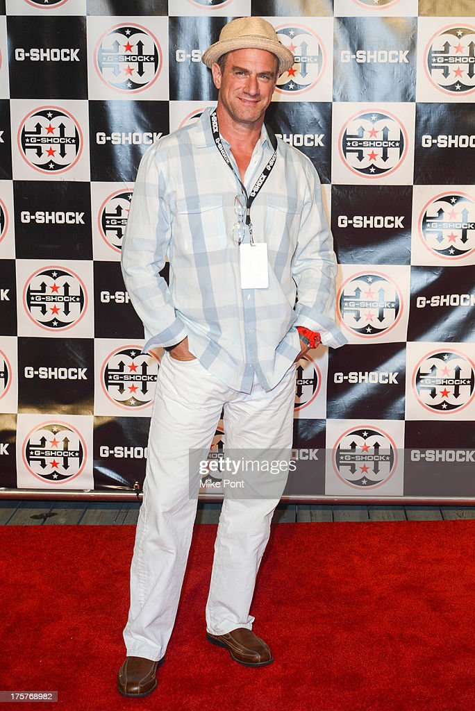 Actor Christopher Meloni attends G-Shock - Shock The World 2013 at Basketball City - Pier 36 - South Street on August 7, 2013 in New York City.