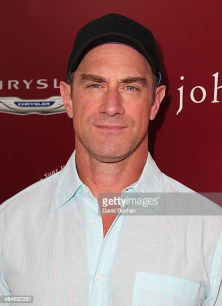Actor Christopher Meloni attends the 11th Annual John Varvatos Stuart House Benefit at John Varvatos on April 13 2014 in Los Angeles California