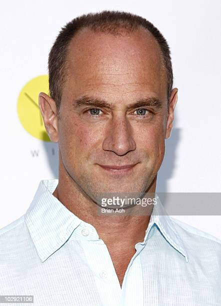 Actor Christopher Meloni attends the 2010 Tupperware summer party at the Glass Houses on July 15 2010 in New York City