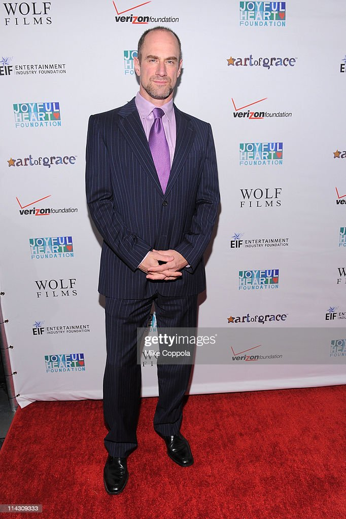 Actor <a gi-track='captionPersonalityLinkClicked' href=/galleries/search?phrase=Christopher+Meloni&family=editorial&specificpeople=220830 ng-click='$event.stopPropagation()'>Christopher Meloni</a> attends the 2011 Joyful Heart Foundation Gala at The Museum of Modern Art on May 17, 2011 in New York City.