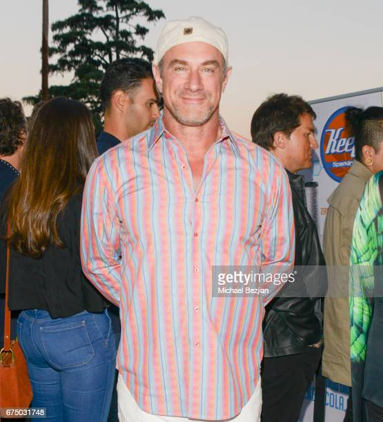 Actor Christopher Meloni attends The Future Of Cannabis Industry Leaders Investors And Influencers at CE Toberman Estate on April 29 2017 in Los...
