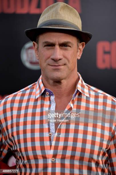 Actor Christopher Meloni attends the premiere of Warner Bros Pictures and Legendary Pictures' 'Godzilla' at Dolby Theatre on May 8 2014 in Hollywood...