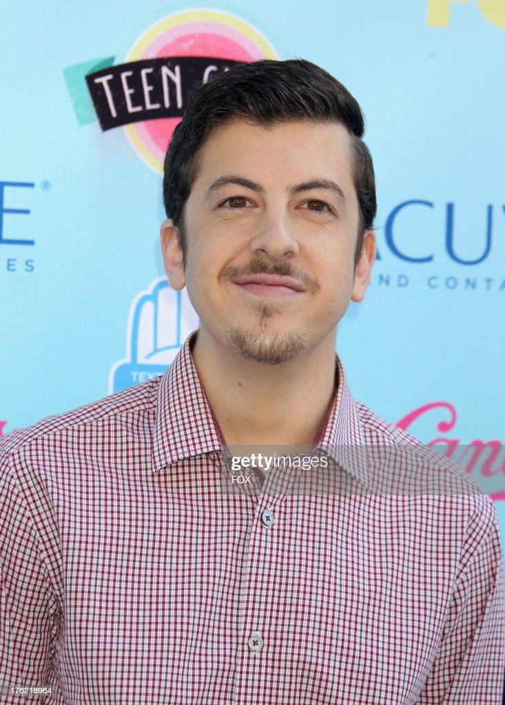 Actor <a gi-track='captionPersonalityLinkClicked' href=/galleries/search?phrase=Christopher+Mintz-Plasse&family=editorial&specificpeople=4326251 ng-click='$event.stopPropagation()'>Christopher Mintz-Plasse</a> arrives at the Fox Teen Choice Awards 2013 held at the Gibson Amphitheatre on August 11, 2013 in Los Angeles, California.