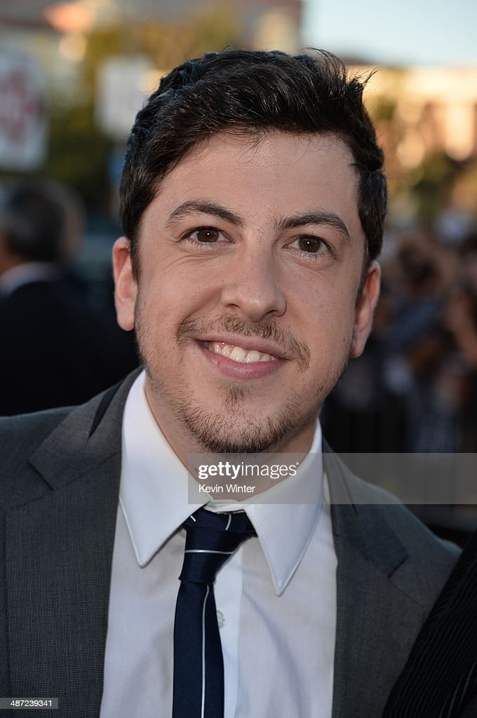 Actor Christopher Mintz-Plasse attends Universal Pictures' 'Neighbors' premiere at Regency Village Theatre on April 28, 2014 in Westwood, California.