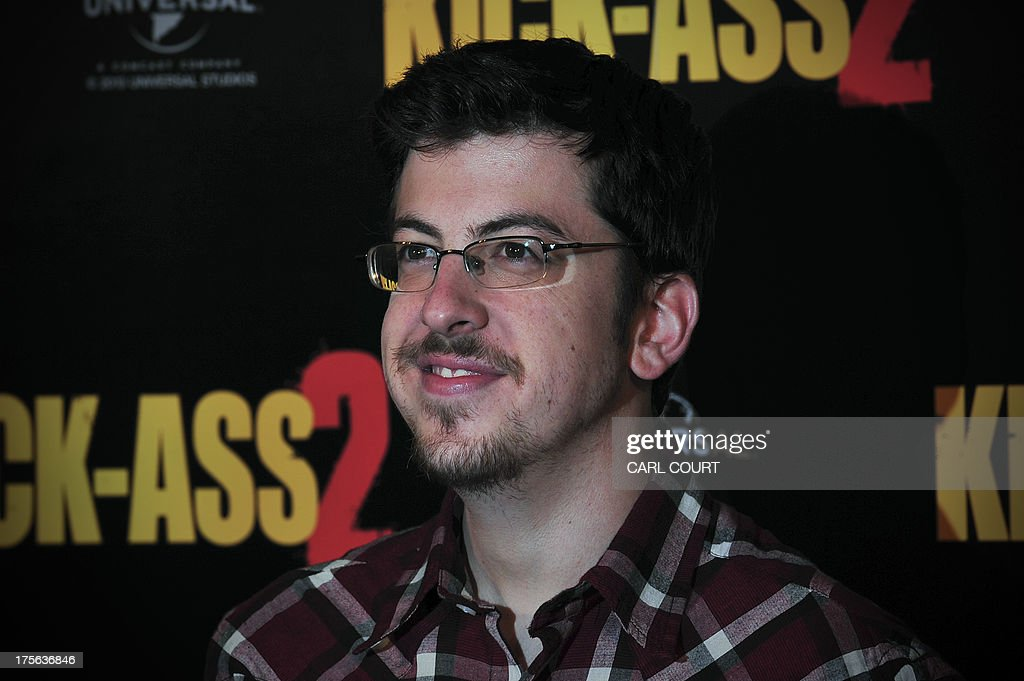 US actor Christopher Mintz-Plasse poses for photographers during a photocall to mark the UK launch of the film Kick Ass 2 in central London on August 5, 2013.