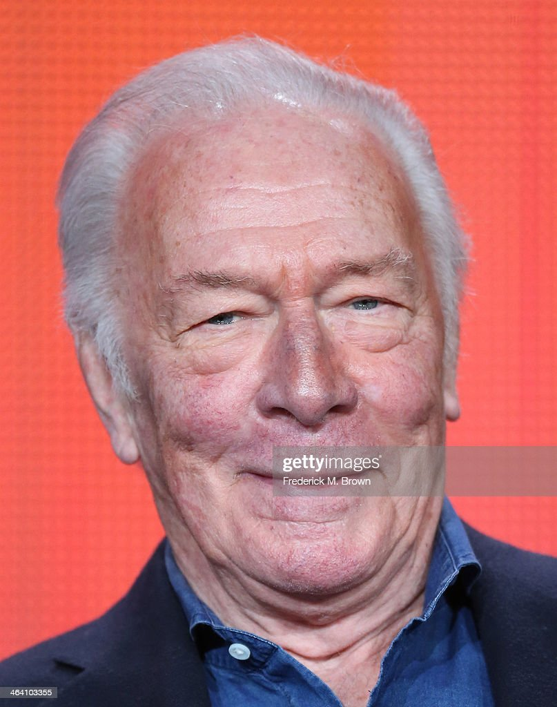 Actor <a gi-track='captionPersonalityLinkClicked' href=/galleries/search?phrase=Christopher+Plummer&family=editorial&specificpeople=215208 ng-click='$event.stopPropagation()'>Christopher Plummer</a> speaks onstage during the ' Great Performances/'Barrymore' ' panel discussion at the PBS portion of the 2014 Winter Television Critics Association tour at Langham Hotel on January 20, 2014 in Pasadena, California.