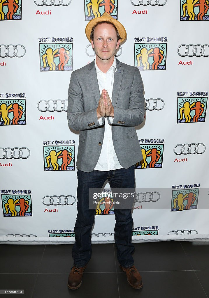 Actor Christopher Redman attends the Best Buddies celebrity poker charity event at Audi Beverly Hills on August 22, 2013 in Beverly Hills, California.