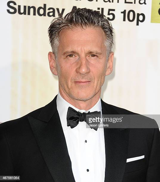 Actor Christopher Stanley attends the 'Mad Men' Black Red Ball at Dorothy Chandler Pavilion on March 25 2015 in Los Angeles California