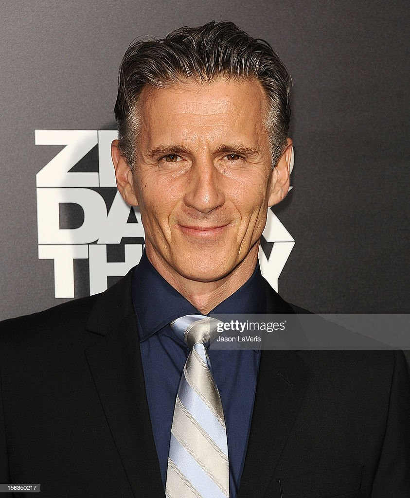 Actor Christopher Stanley attends the premiere of 'Zero Dark Thirty' at the Dolby Theatre on December 10, 2012 in Hollywood, California.