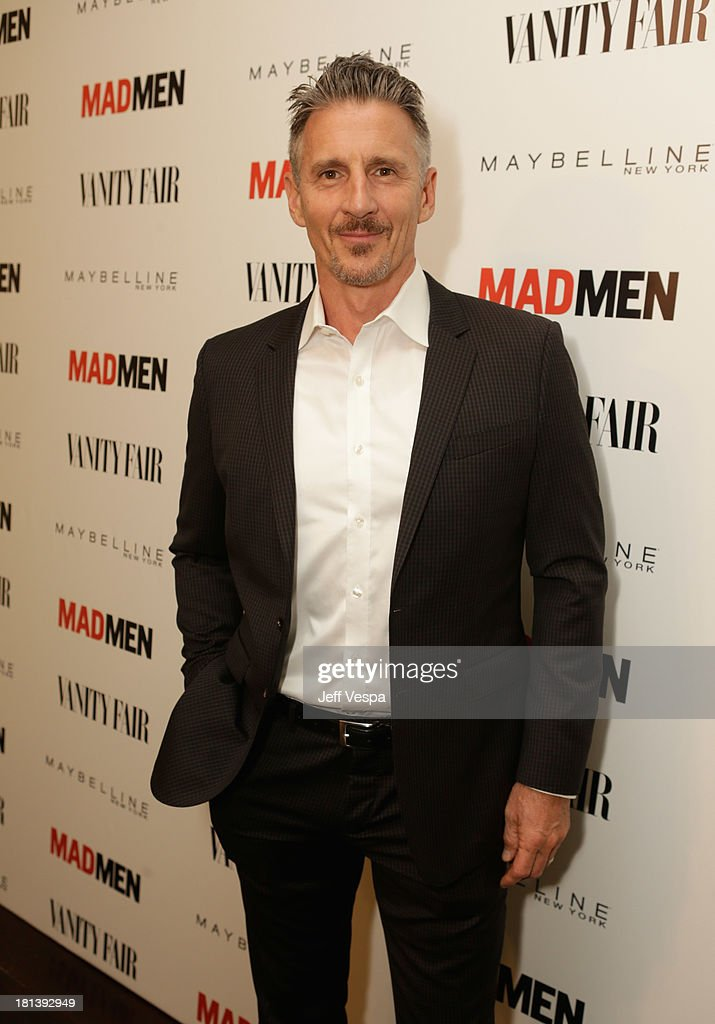 Actor Christopher Stanley attends Vanity Fair and Maybelline toast to 'Mad Men' at Chateau Marmont on September 20, 2013 in Los Angeles, California.
