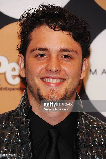 Actor Christopher von Uckermann attends People En Espanol's '50 Most Beautiful' event at The Edison Ballroom on May 13 2009 in New York City