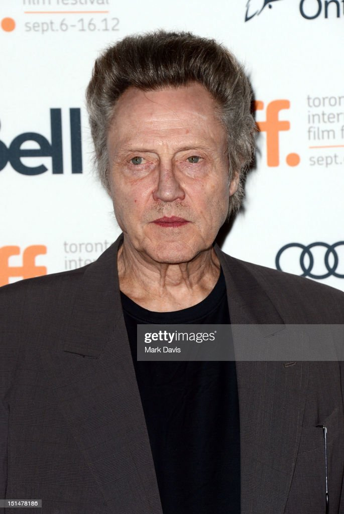 Actor Christopher Walken attends 'Seven Psychopaths' premiere during the 2012 Toronto International Film Festival at Ryerson Theatre on September 7, 2012 in Toronto, Canada.