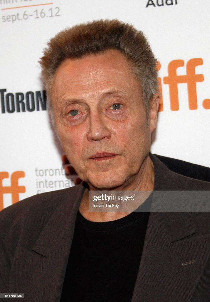 Actor Christopher Walken attends the 'A Late Quartet' Premiere at the 2012 Toronto International Film Festival at The Elgin on September 10, 2012 in Toronto, Canada.