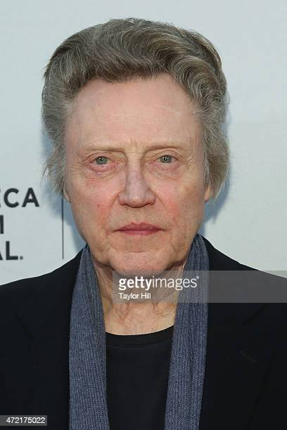 Actor Christopher Walken attends the world premiere of 'When I Live my Life Over Again' at the 2015 Tribeca Film Festival at SVA Theater 1 on April...