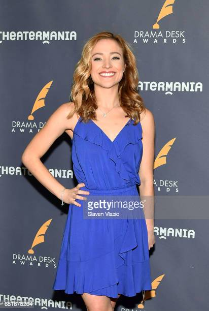 Actor Christy Altomare attends 2017 Drama Desk Nominees reception at Marriott Marquis Times Square on May 10 2017 in New York City