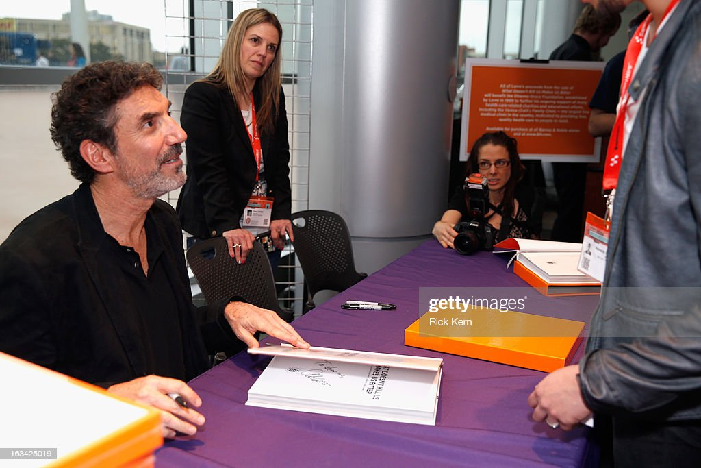 Actor Chuck Lorre Book Signing during the 2013 SXSW Music, Film + Interactive Festival at Long Center on March 9, 2013 in Austin, Texas.