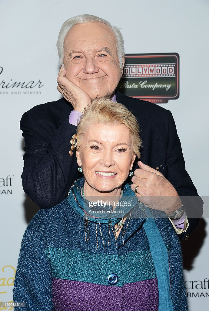 Actor Chuck McCann and his wife arrive at the Hooray For Hollywood...High Gala at the El Capitan Theatre on January 10, 2013 in Hollywood, California.