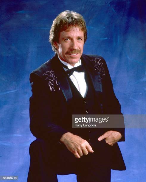 Actor Chuck Norris poses for a portrait Session in January 2003 in Los Angeles California