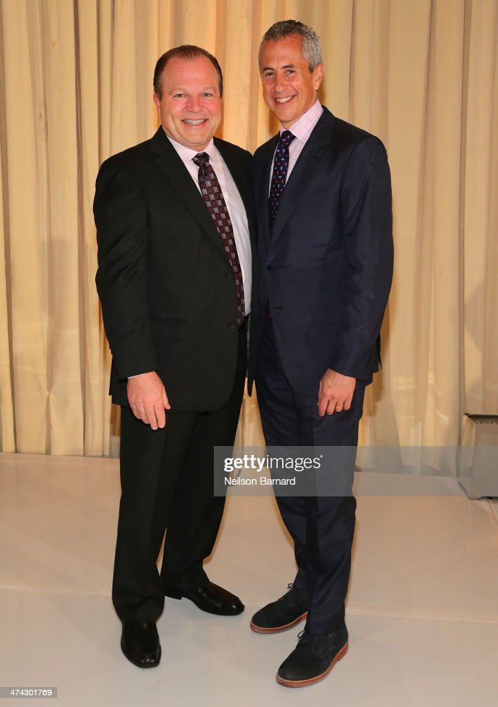 Actor Chuck Wagner and restaurateur Danny Meyer attend the tribute dinner honoring Danny Meyer and Chuck Wagner with master of ceremonies Jonathan...
