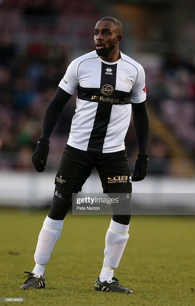 Actor Chucky Venn in action during the William Hill Foundation Cup Celebrity Charity Challenge Match at Sixfields on December 9, 2012 in Northampton, England.