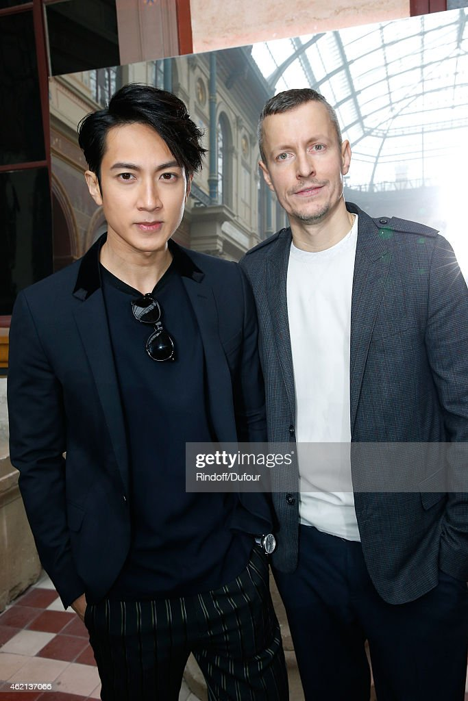 Lanvin : Front Row - Paris Fashion Week - Menswear F/W 2015-2016
