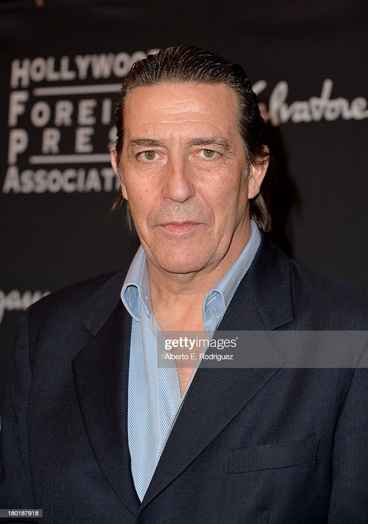 Actor Ciaran Hinds arrives at the TIFF HFPA / InStyle Party during the 2013 Toronto International Film Festival at Windsor Arms Hotel on September 9, 2013 in Toronto, Canada.