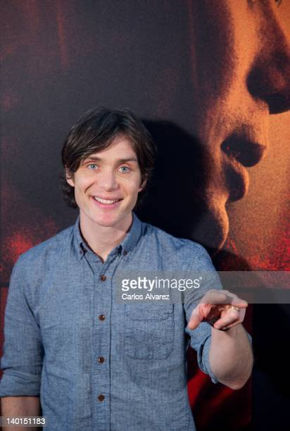 Actor Cillian Murphy attends 'Red Lights' photocall at ME Hotel on February 29 2012 in Madrid Spain