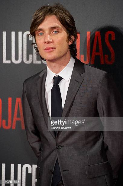 Actor Cillian Murphy attends 'Red Lights' premiere at Capitol cinema on March 1 2012 in Madrid Spain