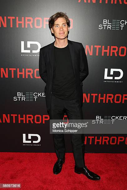 Actor Cillian Murphy attends the 'Anthropoid' New York Premiere at AMC Lincoln Square Theater on August 4 2016 in New York City